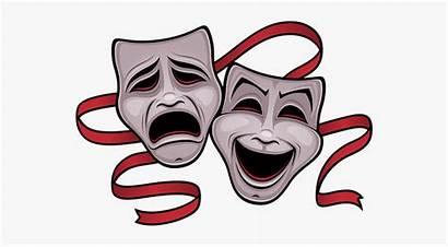 Tragedy Masks Comedy Drama Clipart Pune Banning