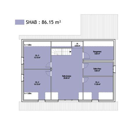 calcul surface utile bureaux surfaces shob shon et habitable cas pratique en images