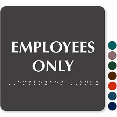 Employees Signs Sign Employee
