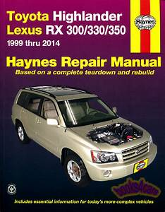 Lexus Rx300 Shop  Service Manuals At Books4cars Com