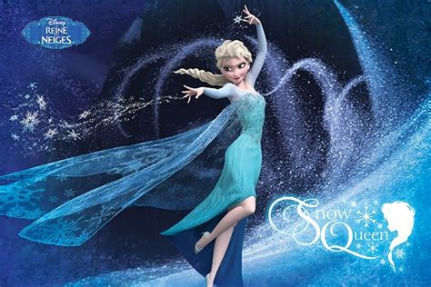 poster la reine des neiges snow queen  reference gaming