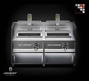 Charcoal Grill Basque Pvj-076-2 Josper
