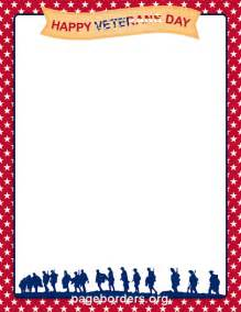 Veterans Day Clip Art Borders
