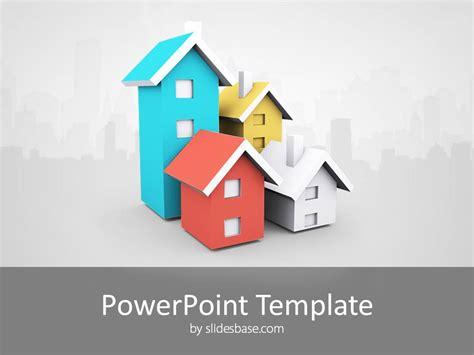 house real estate powerpoint template slidesbase