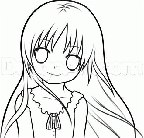 Drawing Anime Simple Anime Drawing Simple Anime Drawings Drawing Pencil