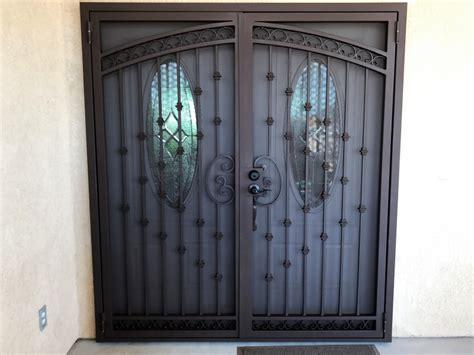 wrought iron security doors fusion metalworks wrought iron security doors and windows