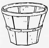 Basket Coloring Empty Clipart Apple Apples Harvest Clip Pencil Transparent Clipground Pinclipart Seekpng sketch template