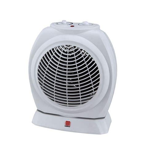 home depot heater fan warmwave 1500 watt oscillating fan heater hfs15 m the