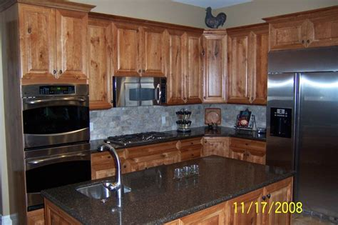 what is the kitchen cabinet rustic cherry kitchen 8947