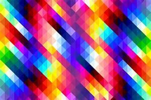 colorful diamonds pattern 6k uhd wallpaper