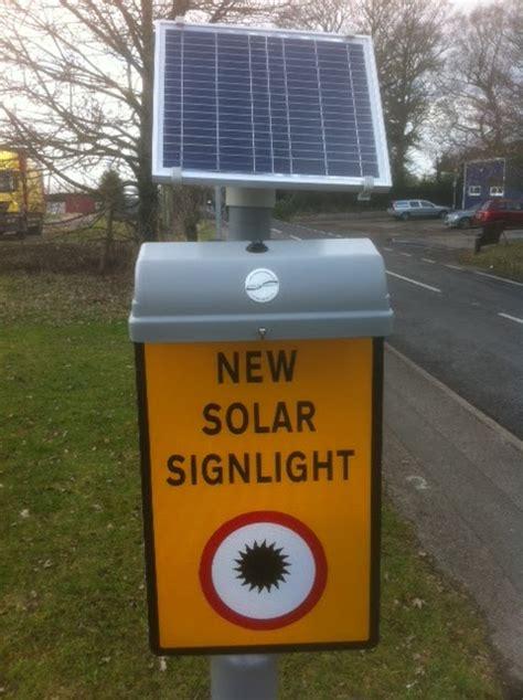 furnishings solar powered sign light unit