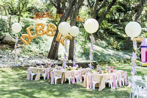 Garden Decoration For Birthday by Kara S Ideas Enchanted Garden Birthday