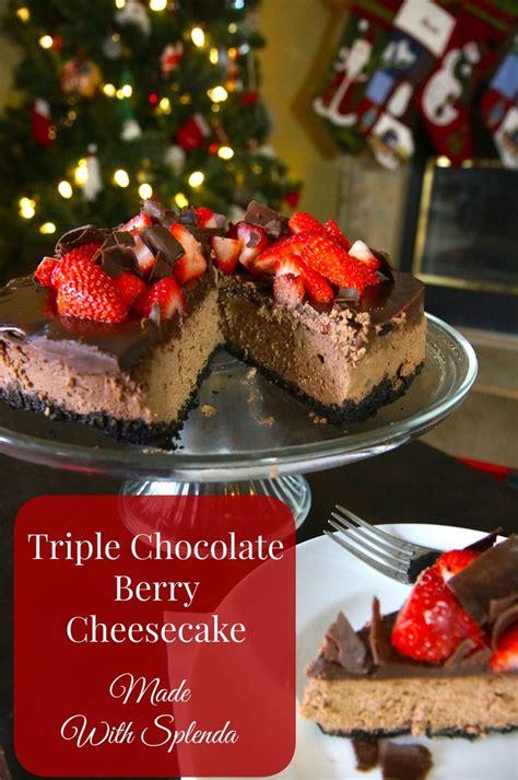 triple chocolate cheesecake recipe cheesecake recipes