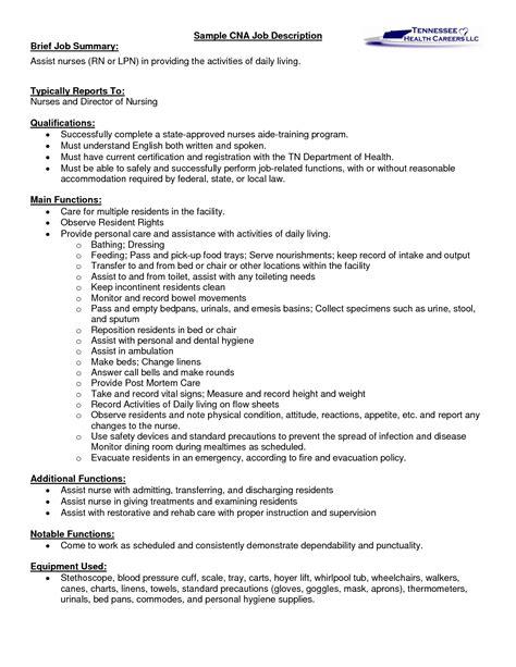caregivers duties for resume caregiver description for resume sales caregiver