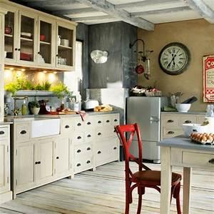 cuisine campagne chic 9 magnifiques idees de deco With deco campagne chic cuisine