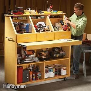Grab-and-Go Tool Storage Family Handyman