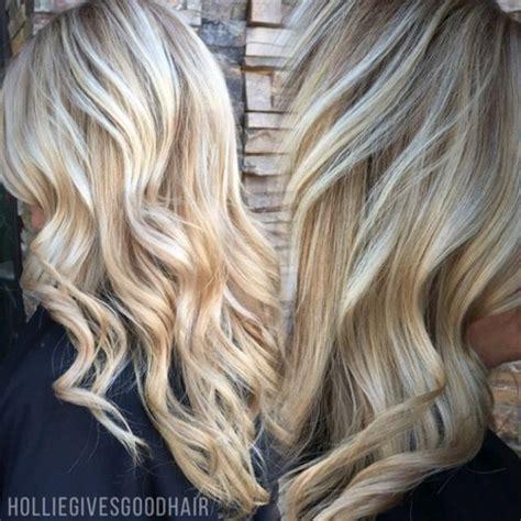 fryzury  pasemkami blond zdjecia