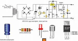Lm337 Ve Lm317  U0130le Basit G U00fc U00e7 Kaynaklar U0131  U2013 Elektronik Devreler Projeler