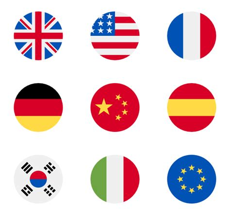 country flags   icons svg eps psd png files