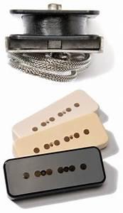 Throbak  U0026 39 52   U0026 39 54 Soap Bar P90 Pickup Set