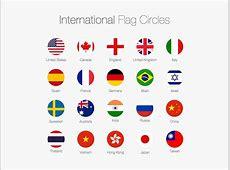 Sketch Freebie International Flag Circles by Joseph