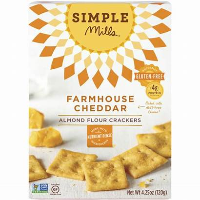 Cheddar Farmhouse Crackers Mills Simple Almond Flour