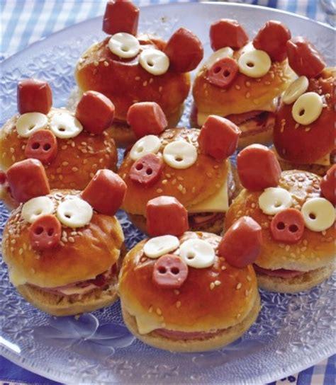 cuisine de cochon mini burgers saucisse recette facile enfant gourmand