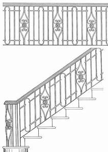 Image Result For Stair Railing Design Drawing