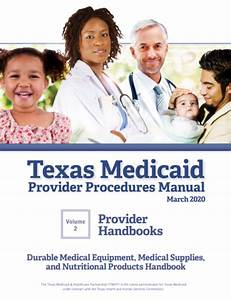 Texas Medicaid Provider Procedures Manual