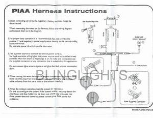 Piaa 959 Blue Fog Lamp Light Kit 09591 Ford Mustang Fastback Eleanor Strosek Porsche 911 993