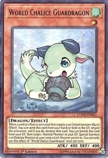 world chalice guardragon code   duelist yugioh