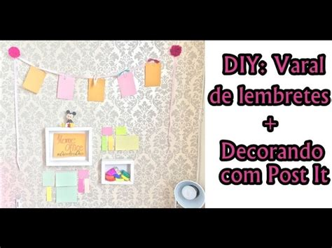 Decorando O Home Office : Decorando O Home Office Com Post It