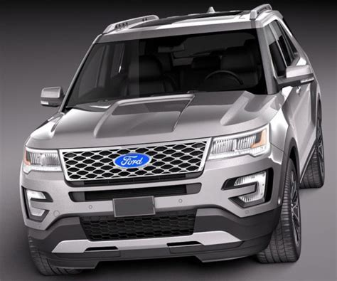 ford explorer release date redesign spy shots
