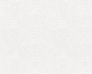 White Blown Vinyl Wallpaper Embossed Textured Patterned ...