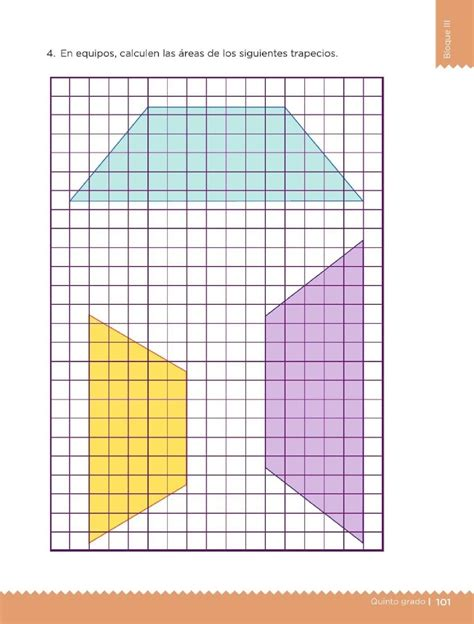 Que los alumnos sean capaces de obtener el área de triángulos. Armo figuras - Bloque III - Lección 52 ~ Apoyo Primaria