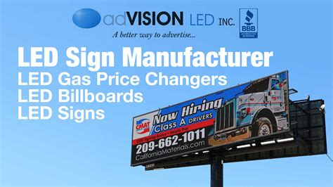 led signs by advision usa manufacturer digital signage billboards