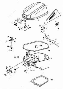 Chrysler 9 9 1982  Engine Cover And Support Plate