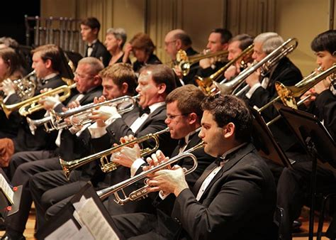 brass orchestra instrument band section mouthpiece guide