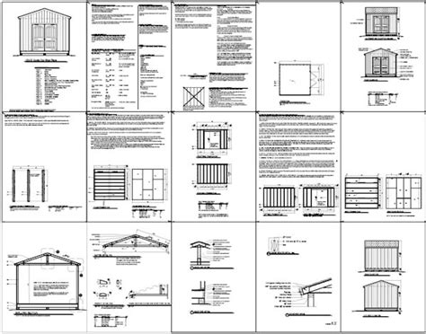 Free 12x12 Shed Plans by Shed Plans Vip12 X 12 Shed Plans Free A Guide To The