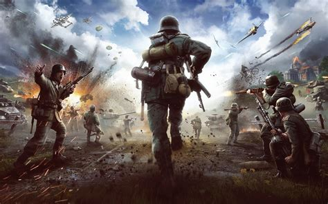 wallpaper heroes generals strategy pc  games