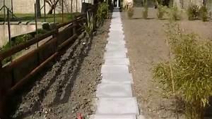 Allee De Jardin : am nagements paysagers complet terrasse dallage muret ~ Premium-room.com Idées de Décoration