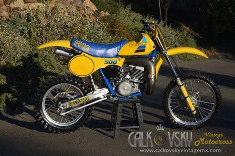 motocross dirt bikes for 1984 suzuki rm 500 vintage motocross dirt bike