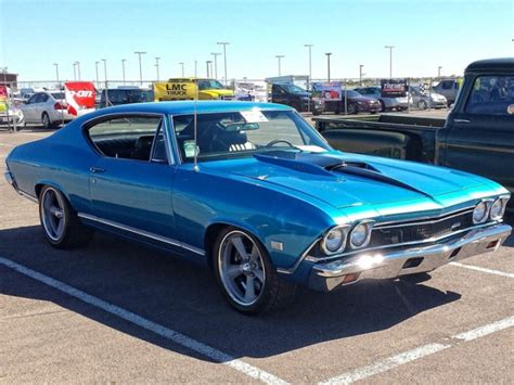 modded muscle cars 1968 chevrolet chevelle resto mod muscle car