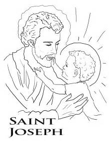 St. Joseph Coloring Page