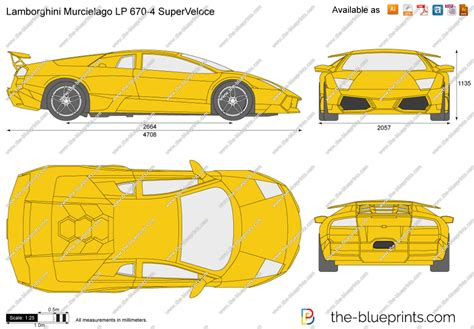 blueprintscom vector drawing lamborghini