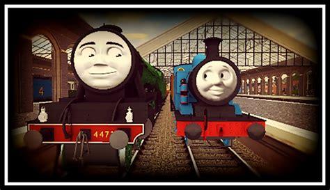 Thomas Meets Flying Scotsman By Terrier55stepney On Deviantart