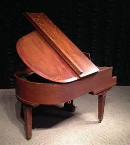 C M Piano : krell oak craftsman style bungalow grand piano antique piano shop ~ Yasmunasinghe.com Haus und Dekorationen