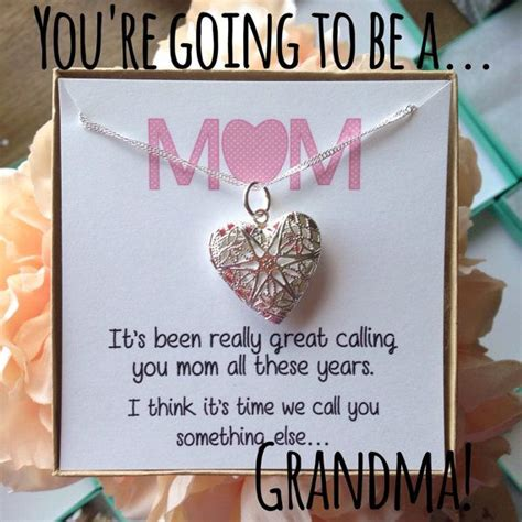 Best 25  Grandma to be ideas on Pinterest   Grandma's boy, Expecting baby announcements and