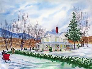 Christmas Painting wallpaper