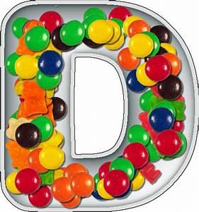 presentation alphabets candy dish letter d With alphabet letter candy dishes